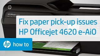 getlinkyoutube.com-Fixing Paper Pick-Up Issues - HP Officejet 4620 e-All-in-One Printer