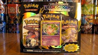 getlinkyoutube.com-Mew Legendary Treasures Blister Pack Opening