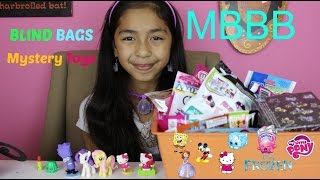 getlinkyoutube.com-Blind Bags My Little Pony, Hello Kitty, Shopkins,Frozen Despicable Me MBBB