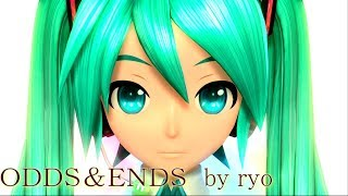 getlinkyoutube.com-[60fps Full風] ODDS&ENDS - Hatsune Miku 初音ミク Project DIVA Arcade English lyrics Romaji subtitles PDA