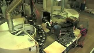 getlinkyoutube.com-A WHEEL IS BORN - polyurethane wheel production at RÄDER-VOGEL®