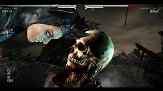 getlinkyoutube.com-Mortal Kombat X - All Characters Performed Ermac's X-Ray