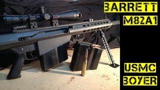 getlinkyoutube.com-Barrett M82A1 Review - Military Sniper Power