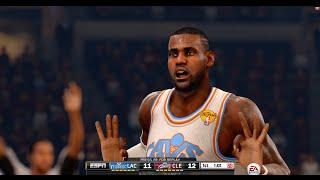 getlinkyoutube.com-NBA LIVE 16 - Epic Finish! How to Use LeBron James!