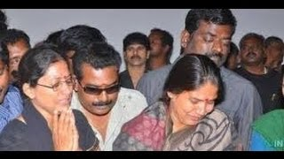 Actress Mounika - I didn't spoke to Balu Mahendra during the past six months | Funeral