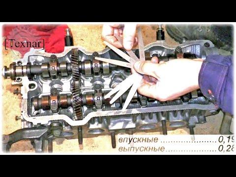 Расположение маслосъемных колец у Toyota Превиа