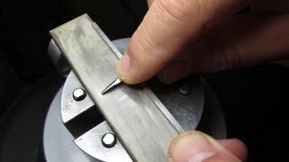 Hand Sharpening Gravers
