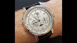 getlinkyoutube.com-A Lange und Sohne Datograph Perpetual Calendar Chronograph REVIEW