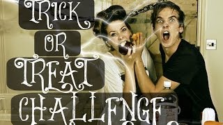 getlinkyoutube.com-TRICK OR TREAT CHALLENGE WITH ZOELLA | ThatcherJoe