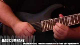 Five Finger Death Punch Bad Company Guitar Solo Cover