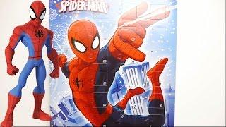 getlinkyoutube.com-MARVEL Ultimate Spider Man Chocolate Advent Calendar 2017