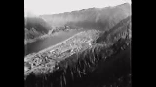 getlinkyoutube.com-Перекрытие реки Енисей на строительстве Саяно-Шушенской ГЭС. Док. фильм о СШГЭС, 1976 год.