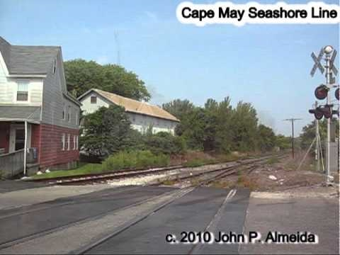 Cape May Seashore Line Rdc's Into And Out Of Cape May Nj Sep