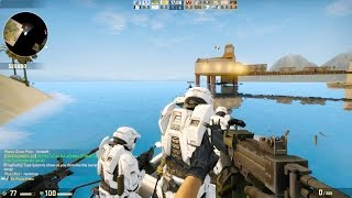 getlinkyoutube.com-Counter Strike Global Offensive - Zombie Escape mod online gameplay on Sorrento Escape map