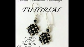 getlinkyoutube.com-TUTORIAL ORECCHINI BLACK DIAMOND