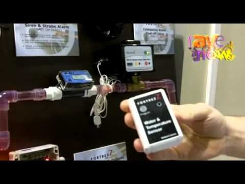 CEDIA 2011: FortrezZ Talks About Its Wireless Water Protection System