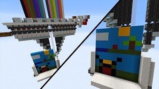 getlinkyoutube.com-Funktionierender DRUCKER in Minecraft Vanilla!