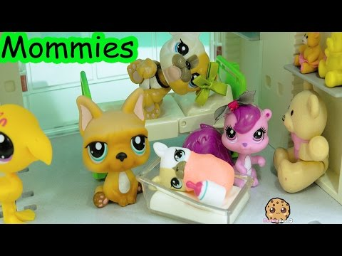 Hospital Germs - LPS Mommies Littlest Pet Shop Mom & Baby Series Part 73