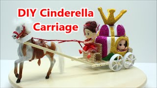 getlinkyoutube.com-DIY Crafts Ideas Projects for Kids How to Make Cinderella Carriage Recycled Bottles Crafts