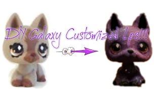 getlinkyoutube.com-DIY Lps Galaxy Custom!