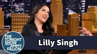 getlinkyoutube.com-Lilly Singh's Last Date Called the Prince of Dubai to Get Her into a Club
