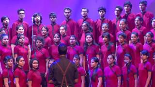 getlinkyoutube.com-Christ University Choir performs TOTO`S Africa at Sound Curry 2016
