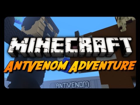 Minecraft Maps - The AntVenom Adventure Map! - Part 1