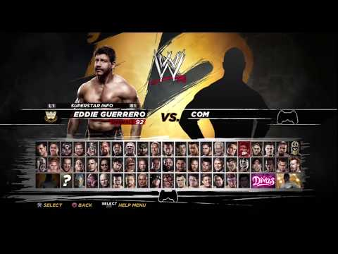 WWE'12 - Full Roster Ratings HD
