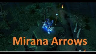 DotA Mirana pro arrows 2013 by The_Baltazar