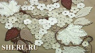 getlinkyoutube.com-Crochet Lace Урок 5 часть 1 из 2 Вязание крючком