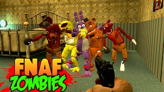 getlinkyoutube.com-FIVE NIGHTS AT FREDDY'S 4 ZOMBIES!!! FNAF 4 Custom Zombies Horror Mod Map! (Call of Duty World War)
