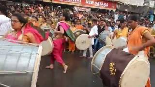 getlinkyoutube.com-Chintamani Patpujan 2016 : Salami Dhol Tasha Pathak