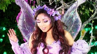 getlinkyoutube.com-Fairy Princess Makeup!​​​ | Charisma Star​​​