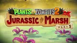 getlinkyoutube.com-Plants vs. Zombies 2 Jurassic Marsh Part 1 Trailer