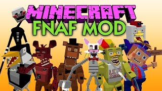 getlinkyoutube.com-MINECRAFT MOD FIVE NIGHTS AT FREDDY'S 3 | El mejor mod de Five Nights At Freddy's | MINECRAFT 1.7.10