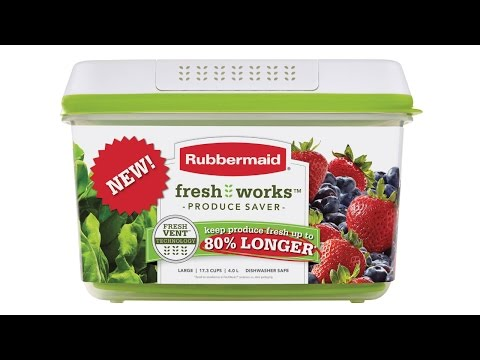 Rubbermaid Freshworks Part 1 - AS SEEN ON TV