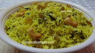 getlinkyoutube.com-Jeera Rice - Flavoured Cumin Rice - Fried Jeera Rice Recipe