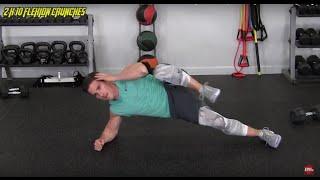 25 Minute Hardcore HIIT Workout w/ James Peska - HASfit High Intensity Training Exercises Workouts