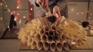 getlinkyoutube.com-Film instruktażowy jak zrobić stroik świąteczny i choinkę