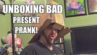 getlinkyoutube.com-BAD PRESENT UNBOXING PRANK! Heel Wife Salty Grim Bought Toys 5 Days BEFORE CHRISTMAS