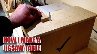 I'm Making A Jigsaw Table - Using A Jigsaw As A Bandsaw - Gosforth Handyman [32]