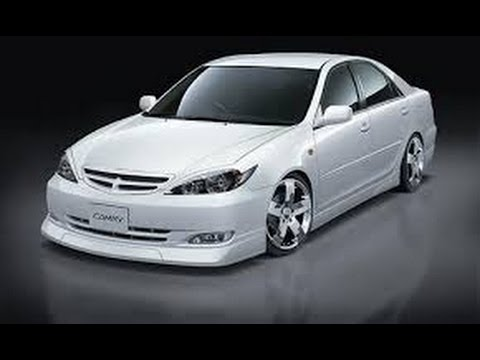 Как снять бампер и фары на Toyota Camry