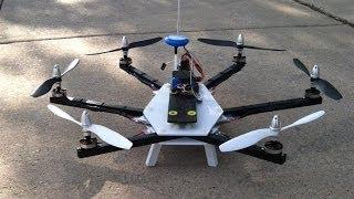 getlinkyoutube.com-Naze32 RTH flight test on scratch build spider hexacopter