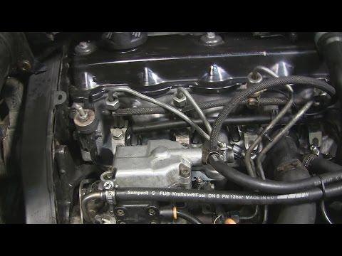1 9 turbo diesel прокачка ТНВД и запуск двигателя просле ремонта часть 19
