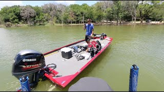 getlinkyoutube.com-Peric Jacked Flukemaster's Boat -- Texas Fishing VLOG no. 1