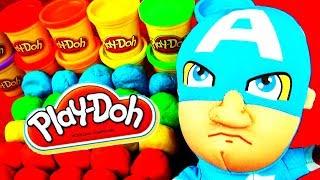 getlinkyoutube.com-30 Egg Surprises! Play Doh Trash Pack Kinder Toy Story Disney Cars Wheels Lego Frozen MLP FluffyJet