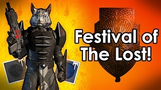 getlinkyoutube.com-Destiny Rise of Iron: How to Get The Superblack Shader & Broom Sparrow - Festival of the Lost!