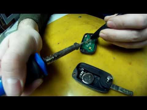 Ремонт ключа зажигания Рено Флюенс.