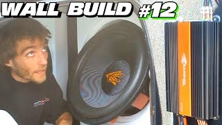 getlinkyoutube.com-EXO's Subwoofer WALL Build #12 | Installing TheAmpLab Lithium Battery | Wiring Crescendo Amps & Subs