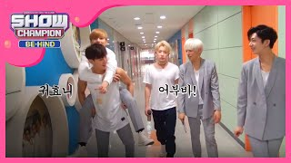 getlinkyoutube.com-(Showchampion behind EP.9) Monsta X 'MPD Cam' A group's mission 2